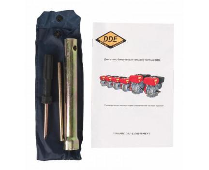 Двигатель бензиновый DDE 177F-S25