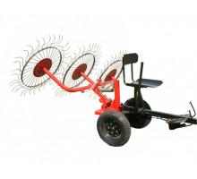 Грабли ворошилки ВМ-3 3 колесные
