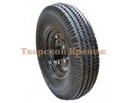 Колесо с покрышкой к телеге ТМП-350
