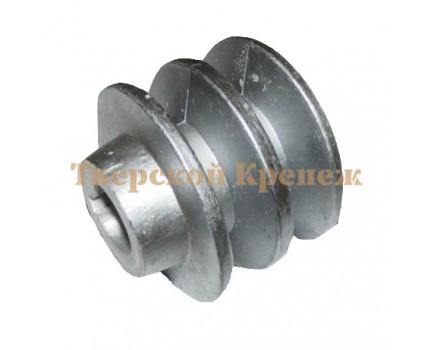 Шкив двигателя мотоблока КРОТ 20 мм