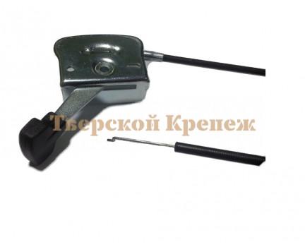 Трос газа мотоблока с ручкой УГРА 1800